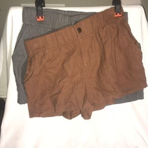 Bundle of Forever 21 Linen Shorts